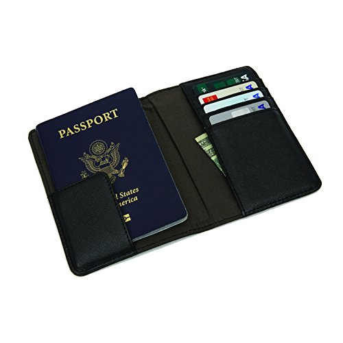 41Jzu87p5zL - Samsonite RFID Passport Wallet, Black