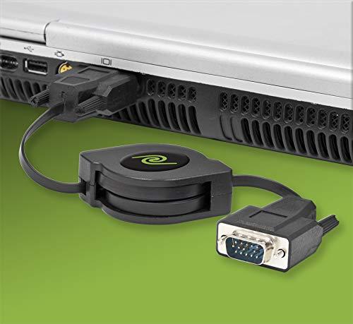 ReTrak Retractable VGA Cable ETCABLEVGA