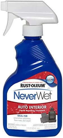 (1 Pack, Clear) - Rust-Oleum 280884 NeverWet 330ml Auto Interior Spray, Clear