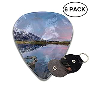 beautiful new zealand mountains classic guitar picks electric acoustic guitar bass. Black Bedroom Furniture Sets. Home Design Ideas