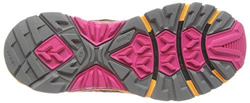 asics T4E7N-9720 Zapatos de Material Sintético para Mujer marrón - Brown (Onyx/Flash Yellow/Dark Green 9907)