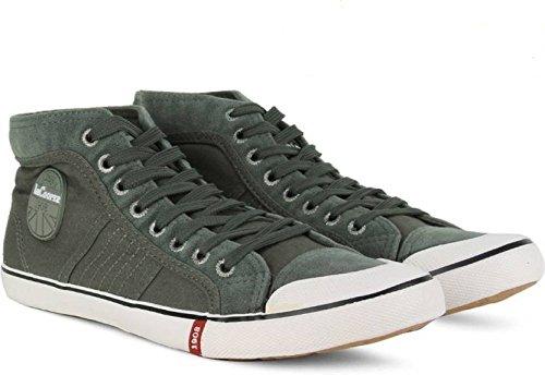 Buy Lee Cooper Men's Mid Grey Sneakers
