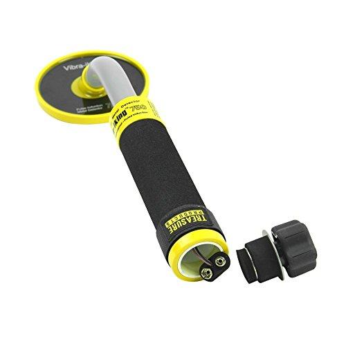 Vibra-King 750 Detector de metales/tesoros bajo el agua con vibración e indicador de detección led, impermeable, manual, con tecnología de inducción de ...
