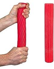 Urządzenie do ćwiczeń rąk - wzmacniacz palców, elastyczny kij do ćwiczeń Cando®, kij treningowy, czerwony (lekki)