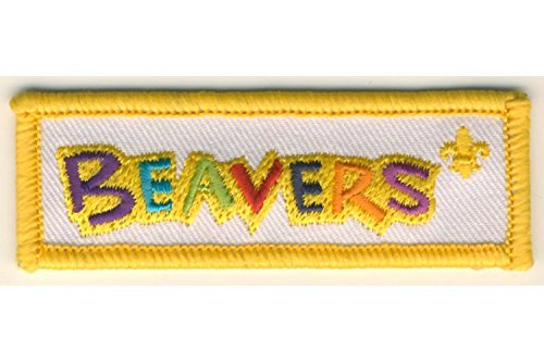 Beavers Logo Fun Badge by Scouting