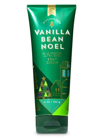 Bath and Body Works Vanilla Bean Noel Ultra Shea Body Cream 8 Ounces