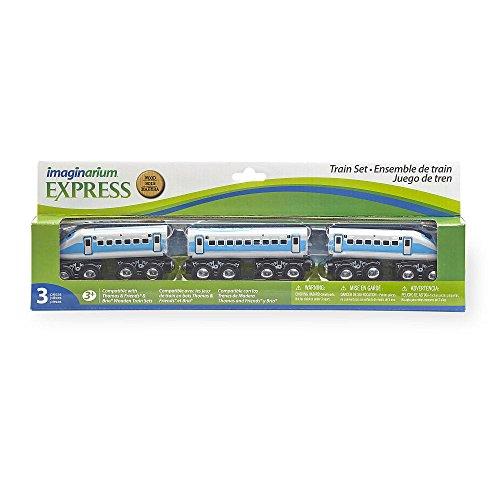 Imaginarium Passenger Train 3 Pack - Blue/Grey
