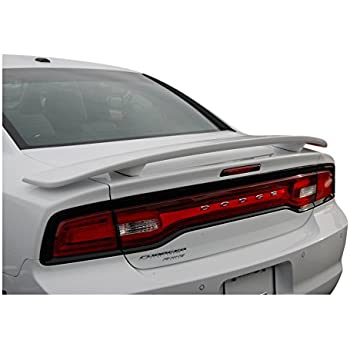 Pre-Painted Trunk Spoiler Fits 2006-2010 Dodge Charger Painted #PXR Brilliant Black Pearl Rear Spoiler Wing other color available by IKON MOTORSPORTS 2007 2008 2009