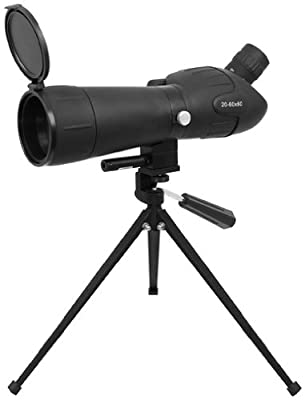 NcStar 20-60 X 60 Green Lens Red Laser Spotting Scope with Tripod by Ncstar