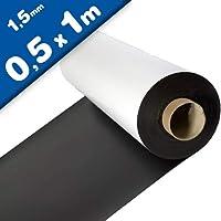 Lámina magnética blanco mate 1,5mm x 50cm x