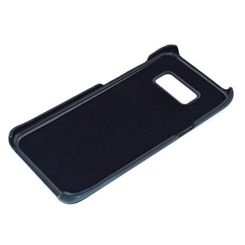 Funda Sensible al Calor Samsung Galaxy S8, Vandot Matte PC Thermal Sensor Case Descoloración Fluorescente Térmica del Calor de Inducción Trasero Cubierta Anti-Fingerprint para movil Samsung Galaxy S8  Discolor Marron