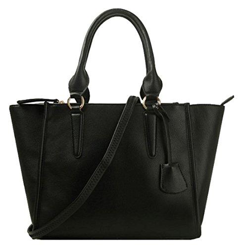De Bolso Girly Handbags Mujer Mano Negro wC0Eq