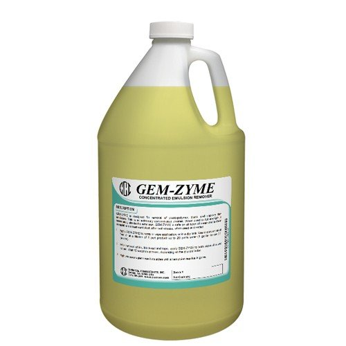 CCI GEM-ZYME stencil/emulsion remover concentrate. Gallon