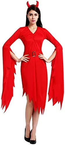 thematys® Disfraz de Vampiro del Diablo para Mujer Cosplay ...