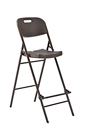 Miraculous Amazon Com Muscle Rack Fpbc311848 Br Folding Plastic Onthecornerstone Fun Painted Chair Ideas Images Onthecornerstoneorg