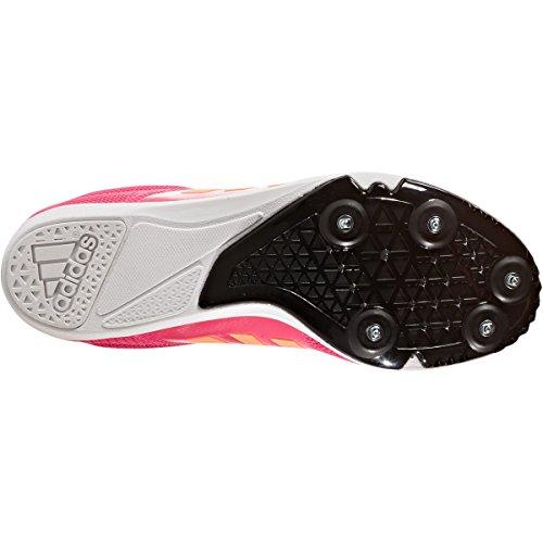 Adidas Todos Redondo Estrella Menor Zapatos Niños Funcionamiento Pua Track Zapatos Morado