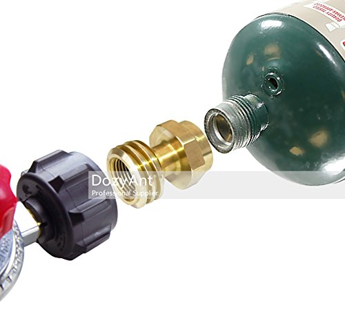 Dozyant Propane Bottle Adapter 1 Lb Or 16 4 Oz Propane