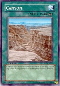 (Yu-Gi-Oh! - Canyon (SD7-EN016) - Structure Deck 7: Invincible Fortress - 1st Edition - Common)