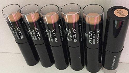 Revlon PhotoReady Insta-Fix Makeup, 150 Natural Beige, ( Pack of 6)