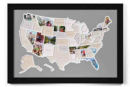 (50 States USA Photo Map)