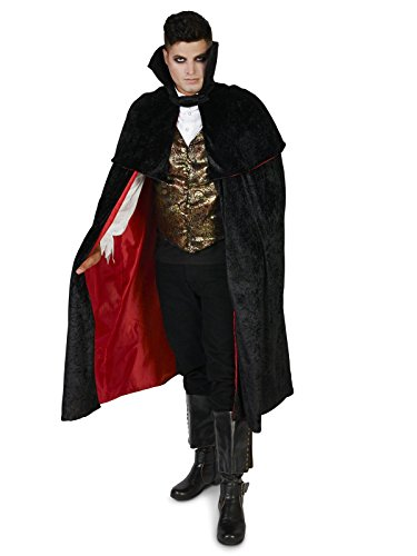 Black Gothic Vampire Male Adult Costume (Men Vampire Costumes)