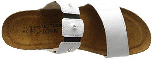 42 Sandal Wedge Patent EU Leather Ashley 5 10 11 Women NAOT White US M qATtx6n0Tw