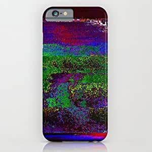 Society6 plus - 6 plus6 plus-84-01 (earth Night Glitch) iPhone 6 plus Case by Acousticdemons
