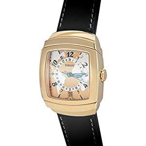 Damiani 18K Rose Gold GMT Timezone Date Mens' Automatic Watch