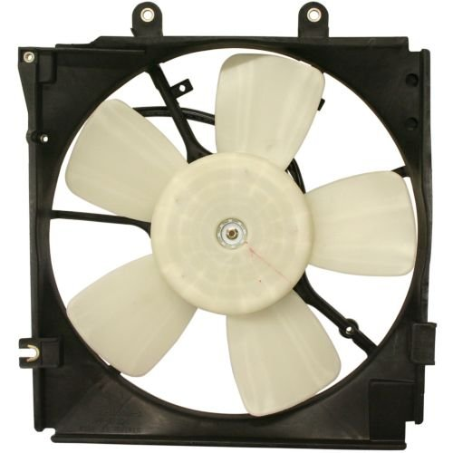 Perfect Fit Group ARBM160902 - Mazda 626 Radiator Fan Shroud Assembly, 4Cyl / 6Cyl