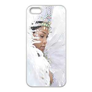 DIY Stylish Printing Rihanna Cover Custom Case For iPhone 5, 5S MK2H3176