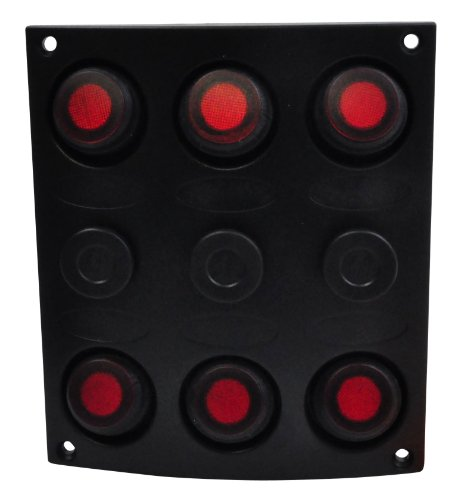 (SeaSense Waterproof 6 Gang Toggle Switch Panel)
