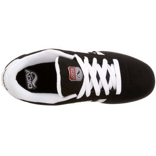 Adio Mens Copley Sneaker Nero / Bianco / Gomma