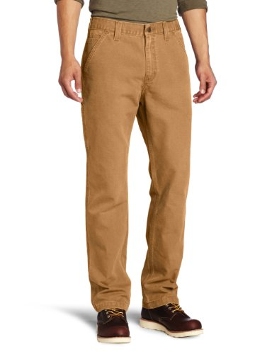 UPC 035481987151, Carhartt Men's Weathered Duck Dungaree Relaxed Fit,Carhartt Brown (Closeout),36 x 36