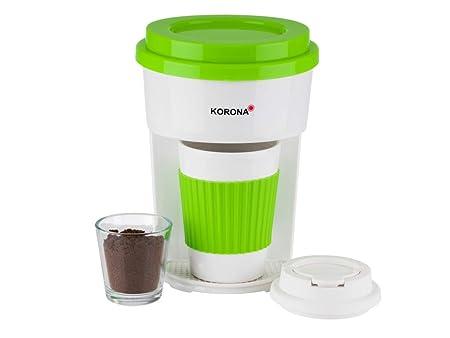 Korona 12203 - Cafetera de goteo con filtro verde y taza ...
