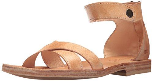 Letto | Stu Womens Tulli Flat Sandal Sand Rustic