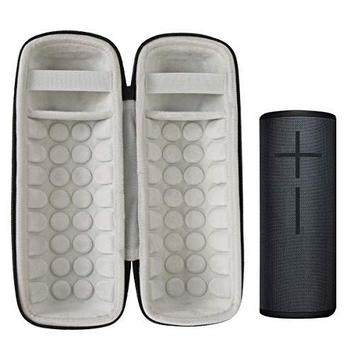 Khanka Hard Travel Case for Ultimate Ears UE Boom 3 Portable Bluetooth Wireless Speaker (Black)