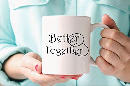 Wedding Gift Mug for Couple,Jack Johnson,Engaged Mug,Bridal Shower Gift for the Bride- Coffee Mug, Tea Mug, Cute Mug - Gift, cute gift, Souvenir, 11oz, 15oz