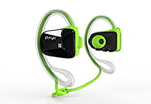 psyc Elise SX Wireless Bluetooth Stereo Headphones / Earphones with Call Microphone for Wifi - NFC Connection / Waterproof Suitable for Sports Running Cycling / GREEN by iChoose Limited