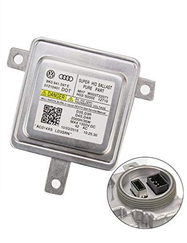 (BLACKHORSE-RACING D3S Xenon Headlight Ballast HID Control Unit Module for Audi Q3 Q5 VW 8K0941597)