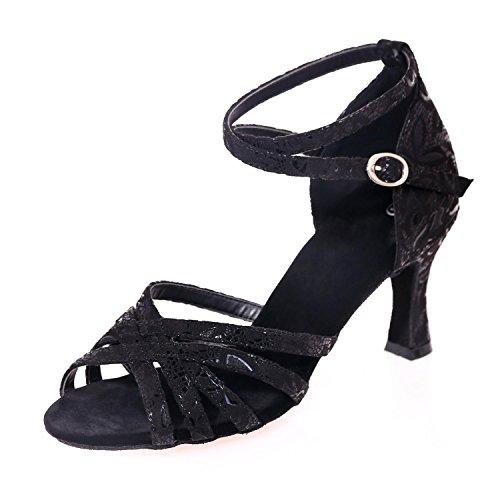 L Possono Professionali Da yc Delle Essere Donne Grande Multicolore A Ballo Dimensione Personalizzate Scarpe Black qxI0qwngr