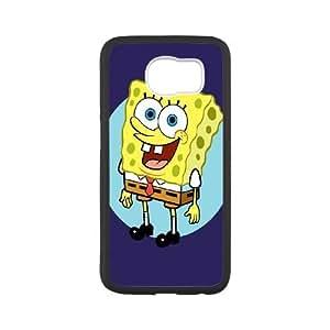 Samsung Galaxy S6 Cell Phone Case Black sponge Bob 11 VIU904136