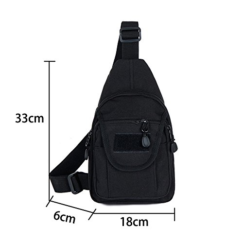 6558b381bb10 YOUNGBEST Tactical Sling Bag Military Sport Shoulder Gym Chest Backpack  Crossbody Bags Men Women for Camping