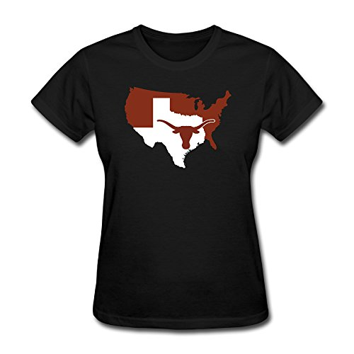 T-shirt Texas Short Longhorns Sleeve - Texas Orange Texas Longhorns Texas Nation Women's Short Sleeve T Shirt Seller