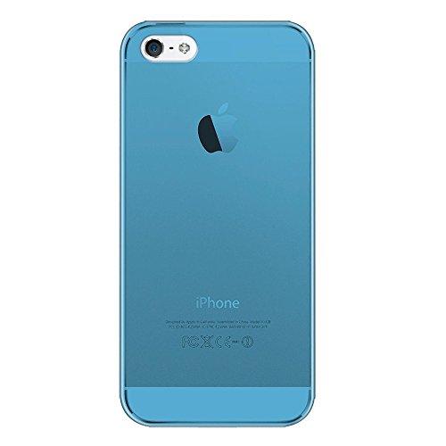 Katinkas KATIP51165 Hard Cover für Apple iPhone 5 Ultra Slim blau