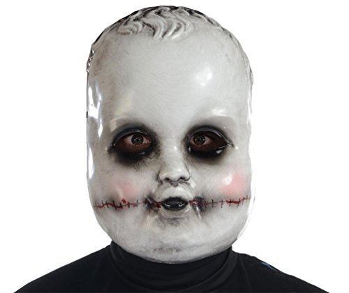 Morris Costumes Halloween Party Smiling Sammie Doll Mask