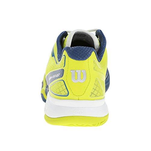Clay Zapatillas 0 Unisex Adulto Court Rush Tenis Verde Blanco 2 Lima de Wilson Pro 61YqI4