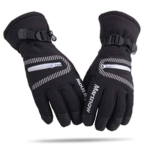LoveKids Thinsulate and Waterproof Quilted Ski Gloves for Kids
