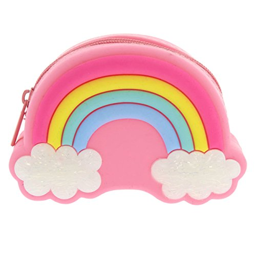 Rainbow Girl's Claire's Jelly Coin Neon Purse nOEOqdYw