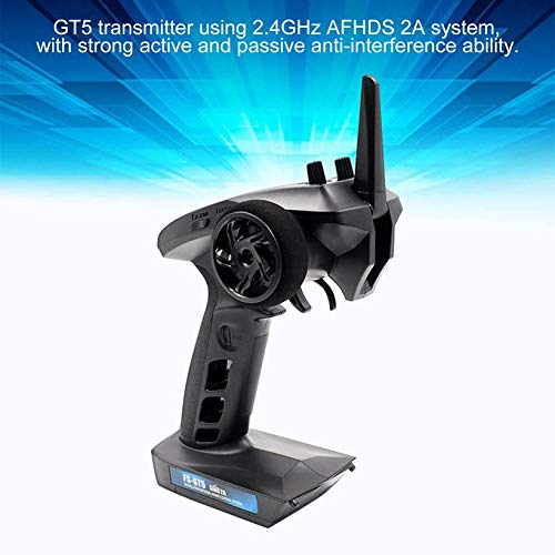 Wikiwand Flysky FS-GT5 2.4G Transmitter with FS-BS6 Receiver Built-in Gyro for RC Drone by Wikiwand (Image #5)