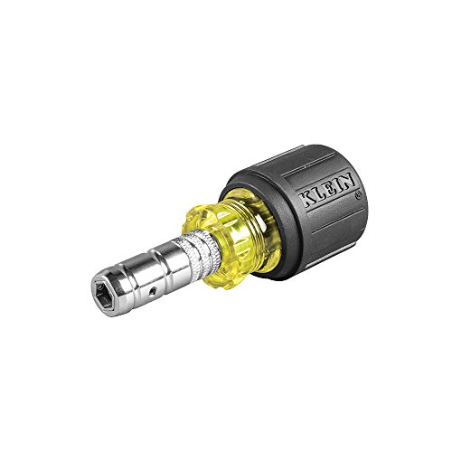 2-in-1 Hex Head Slide Drive Nut Driver 1-1/2-Inch Klein Tools 65131 ()